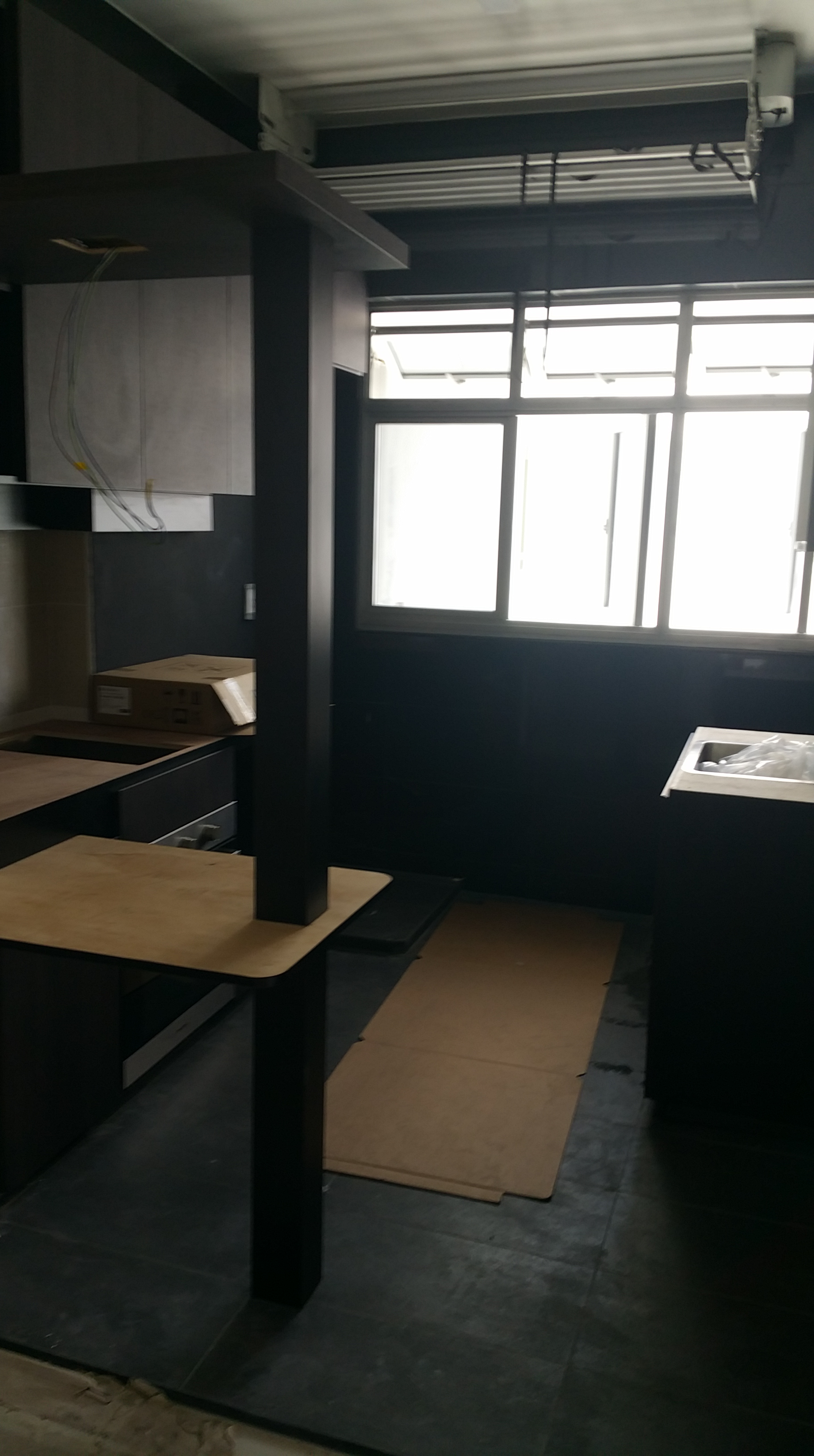 Hdb Two Room Bto 47: End Of 7th Week After Key Collection. Carpentry Works