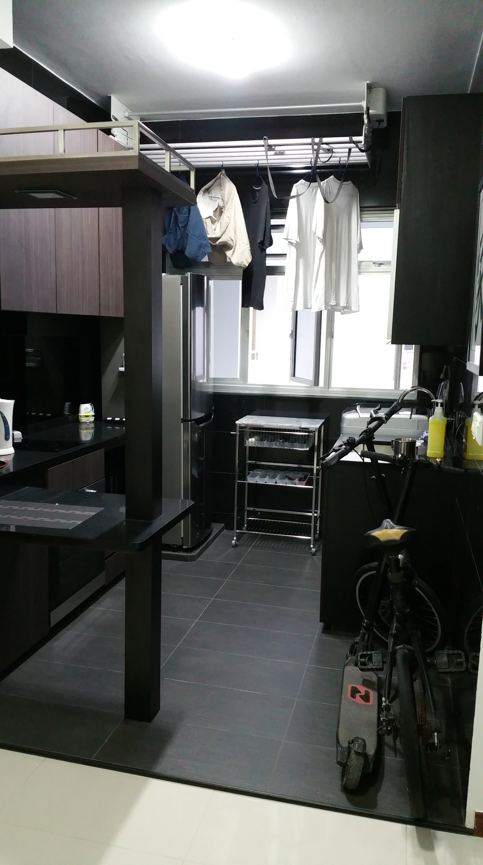 Hdb Two Room Reno: My Modern Zen 2-Room 35sqm (Type 1) HDB BTO Apartment